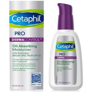 Cetaphil Pro Oil Absorbing SPF 30 4-oz. Moisturizer for $13 via Sub & Save