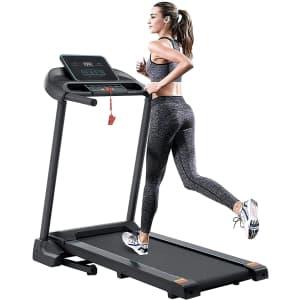 Coidak Foldable Treadmill for $132