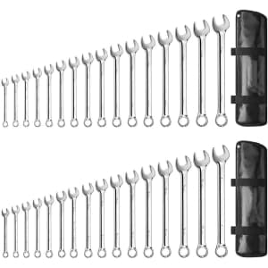 788 32-Piece SAE and Metric Wrench Set for $68