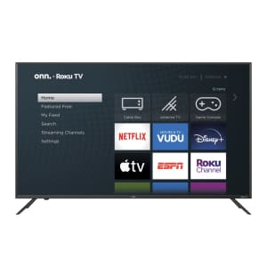 "Onn 50"" 4K UHD HDR Roku Smart TV for $349"