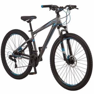 Mongoose Impasse HD Mens Mountain Bike, 29-Inch Wheels, Aluminum Frame, Twist Shifters, 21-Speed for $630