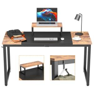 """Vanergy 55"""" Computer Desk for $49"""