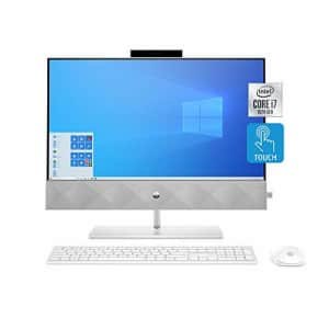 HP Pavilion All-in-One 24-inch Desktop Computer, Intel Core i7-10700T, 16 GB RAM, 1 TB Hard Drive & for $1,148