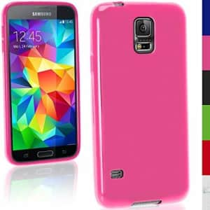 Transcend Samsung Galaxy S4 Mini Cell Phone Memory Card 8GB microSDHC Memory Card with SD Adapter for $11