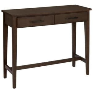 """Home Decorators Collection Bellamy 38"""" 2-Drawer Console Table for $112"""