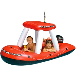 Swimline Fireboat Squirter Inflatable Pool Toy for $37