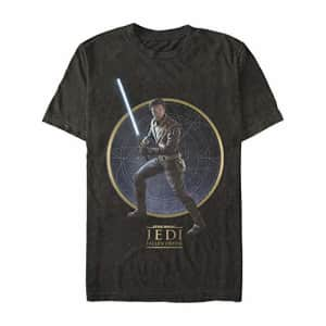 Star Wars Men's T-Shirt, black, XX-Large for $8