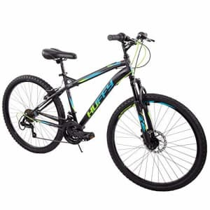"Huffy 26"" Nighthawk Men's Mountain Bike, Black Matte 18 Speed for $299"