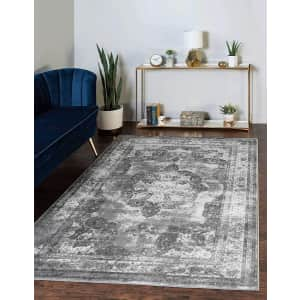 Unique Loom Sofia Collection 5x8-Foot Area Rug for $70