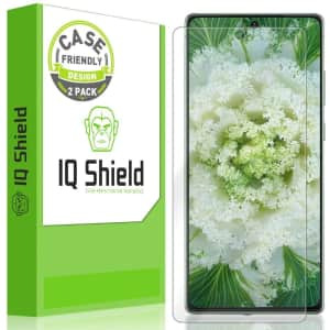 IQShield Screen Protector for Samsung Galaxy Note 20 2-Pack for $6