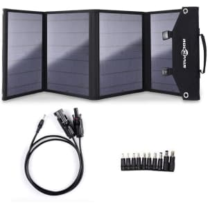 Rockpals 100W Solar Panel Charger for Suaoki Generator for $200