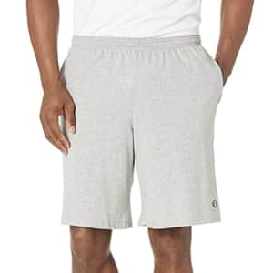 """Champion Men's 9"""" Jersey Workout Shorts for $11"""