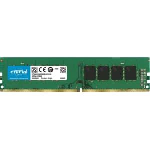 Crucial RAM 16GB DDR4 2666 MHz CL19 Desktop Memory for $73