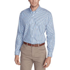 Eddie Bauer Men's Classic Fit Pinpoint Oxford Shirt for $30