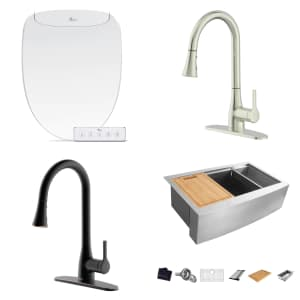 Faucets, Sinks, and Bidets at Home Depot: Up to $100 off