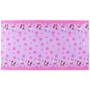 """American Greetings Minnie Mouse Party Supplies, Plastic Table Cover, 54"""" x 96"""" for $15"""