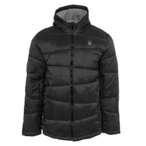 Spyder Men's Nexus Puffer Jacket for $55