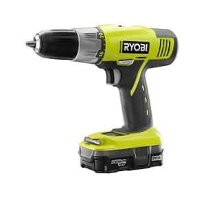 Ryobi 18V ONE+ Li-Ion Cordless 5-Tool Combo Kit with Brad Nailer for $230