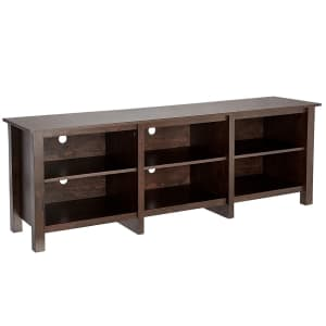 """Rockpoint 70"""" 3-Piece TV Stand for $181"""