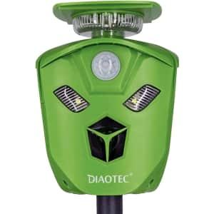 Diaotec Outdoor Ultrasonic Animal Repeller for $35