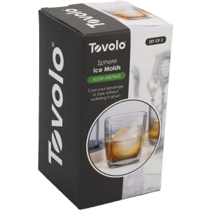 """Tovolo 2.5"""" Sphere Ice Molds 2-Pack for $12"""
