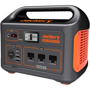 Jackery Explorer 1000 1,000W Portable Power Station for $999