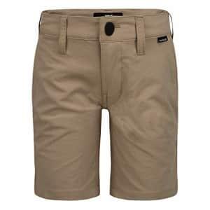 Hurley Boys' Dri-FIT Walk Shorts, Khaki, 4T for $11