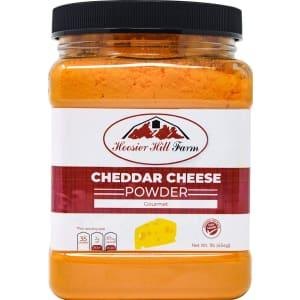 Hoosier Hill Farm Cheddar Cheese Powder 1-Lb. Jar for $6.48 via Sub & Save