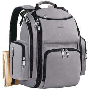 Mancro Diaper Bag Backpack for $30