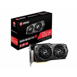 MSI Gaming Radeon RX 5600 XT Boost Clock: 1620 MHz 192-bit 6GB GDDR6 DP/HDMI Dual Torx 3.0 Fans for $290