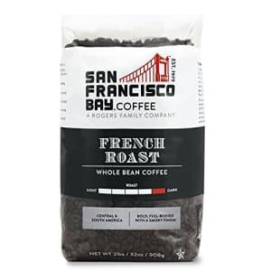 SF Bay Coffee French Roast Whole Bean 2LB (32 Ounce) Dark Roast for $24
