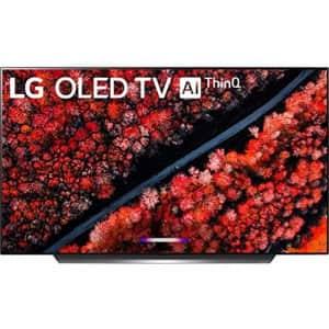 """LG OLED65C9AUA / OLED65C9PUA C9 Series 65"""" 4K Ultra HD Smart OLED TV (Renewed) for $1,902"""