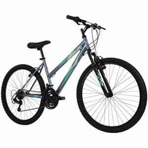 Huffy Hardtail Mountain Bike, Stone Mountain, 26 inch, 21-Speed, Charcoal, 26 Inch Wheels/17 Inch for $200