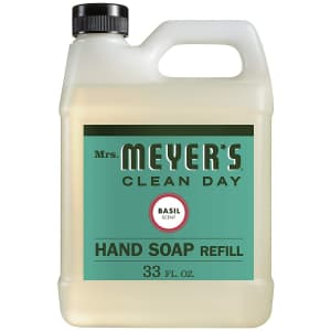 Mrs. Meyer's 33-oz. Clean Day Liquid Hand Soap Refill for $7 or 3 for $15