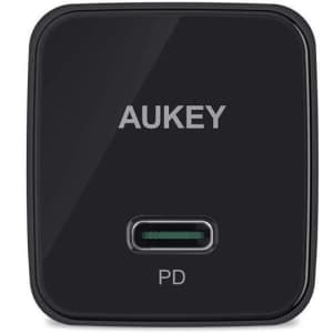 Aukey Minima 20W USB-C Charger for $5