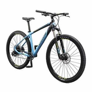 Mongoose Tyax Expert Adult Mountain Bike, 29-Inch Wheels, Tectonic T2 Aluminum Frame, Rigid for $1,200