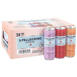 San Pellegrino Essenza Mineral Water Variety 24-Pack for $14 via Sub & Save