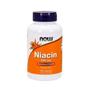 Now Foods NOW Supplements, Niacin (Vitamin B-3) 500 mg, Essential B-Group Vitamin*, Nutritional Health, 100 for $9