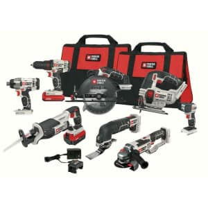Porter-Cable 20V Max Cordless 8-Tool Combo Kit for $410