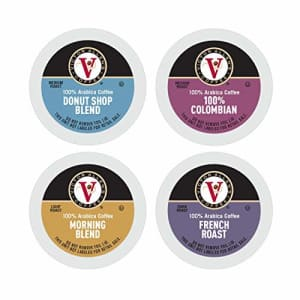Victor Allen's Donut Shop, Morning Blend, 100% Colombian, and French Roast Variety Pack for K-Cup, Keurig 2.0 for $42
