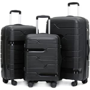 Coidak 3-Piece Luggage Set for $85
