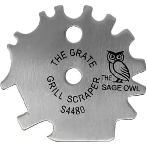 The Sage Owl The Grate Grill Scraper for $12