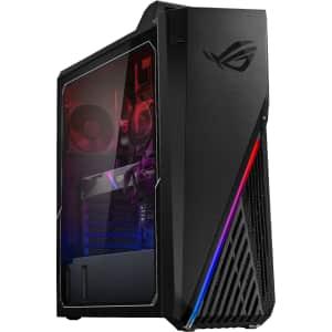 Asus ROG 11th-Gen. i7 Gaming Desktop PC for $1,600