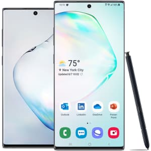Samsung Galaxy Note10+ 256GB Android Phone for $400