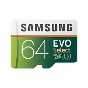 Samsung 64GB Class 10 UHS-I U3 Micro SD Card for $37