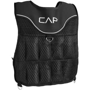 Cap Barbell 20-lb. Adjustable Weighted Vest for $34