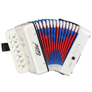 Eastar Kids' Toy Accordion 10-Button Mini Musical Instrument for $30