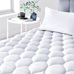 Leafbay Quilted Twin Mattress Pad for $21