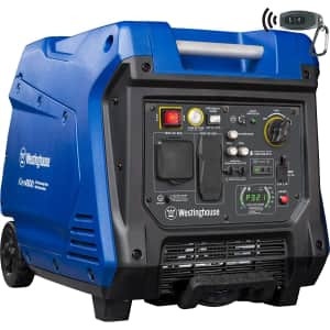 Westinghouse iGen4500 Super Quiet Portable Inverter Generator for $900