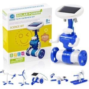 Ciro Solar Robot STEM Toy for $8